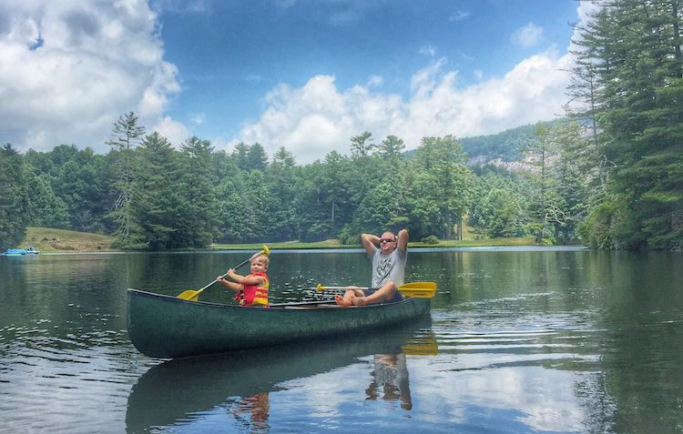 365 Atlanta Traveler canoeing High Hampton