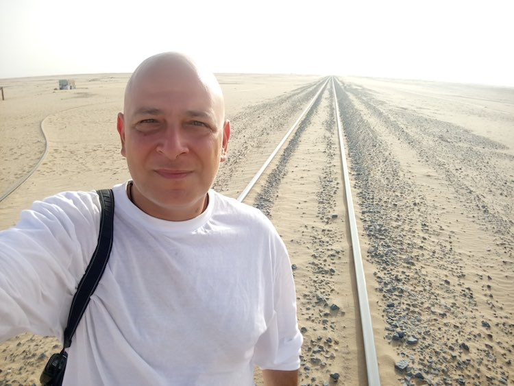 Harry Mitsidis of Nomad Mania in Mauritania