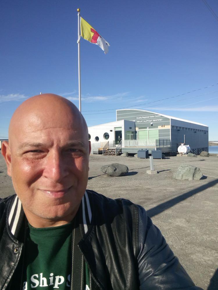 Harry Mitsidis of Nomad Mania in RankinInlet Nunavut Canada
