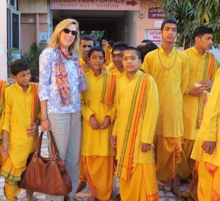 Jan Schroder in India