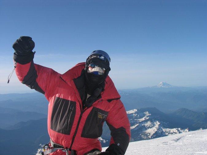 Dave Levart Summit Rainier