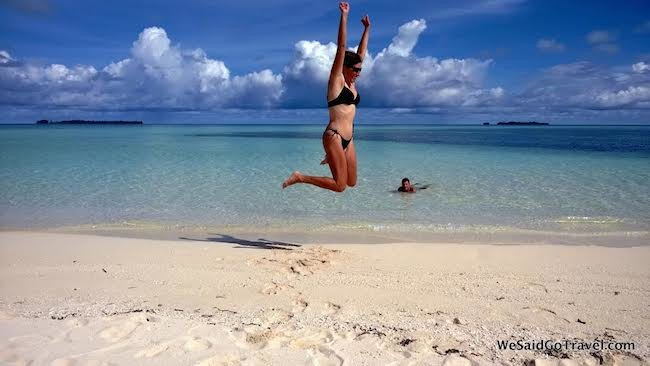 Lisa Niver in Palau