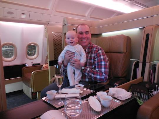 McCool Travel interview with Richard Kerr, Etihad first class