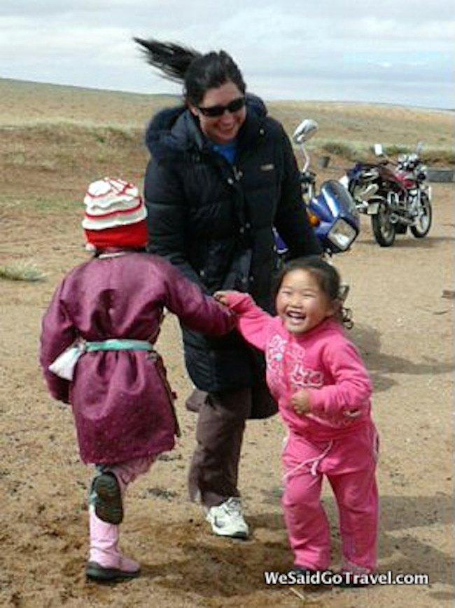 Lisa Niver in Mongolia, We Said Go Travel