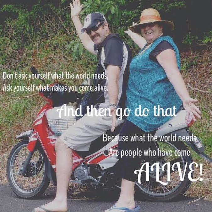 Ron and Michele Legge, Legging It